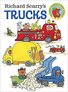 Richard Scarry's Trucks Board Book