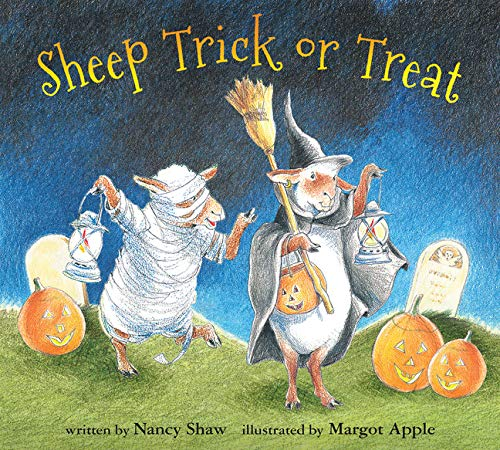 Sheep Trick or Treat Board Book
