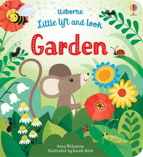Little Lift and Look Garden Board Book