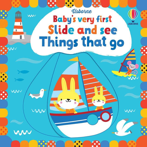 Baby's Very First Slide And See Things That Go Board Book