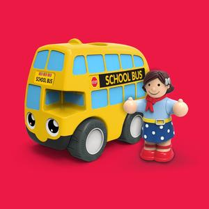 My First Wow School Bus Ben