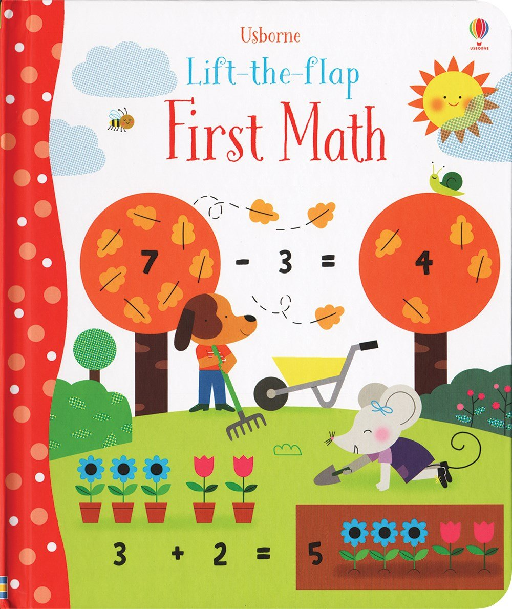 First Math Lift The Flap Board Book