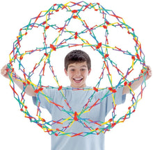 Load image into Gallery viewer, Hoberman Rainbow Sphere Ball