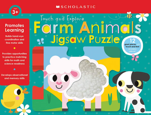 Touch and Explore Farm Animals Puzzle