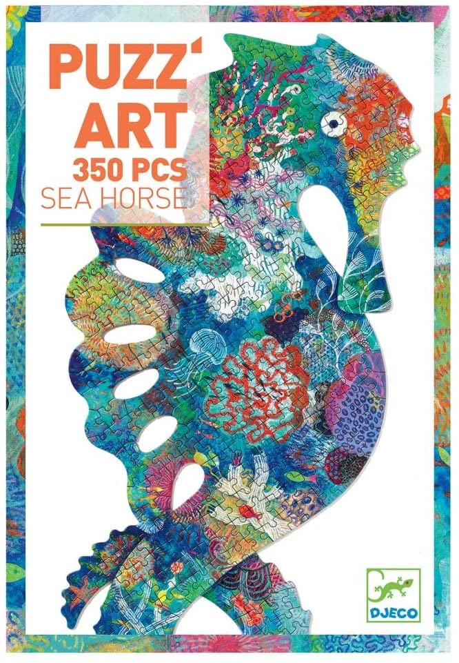 350 Piece Sea Horse Puzzle Art