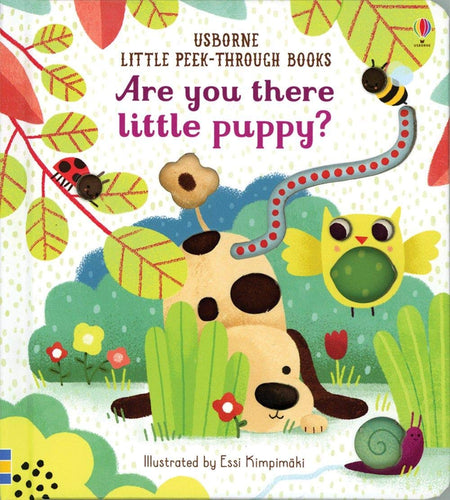 Are You There Little Puppy Little Peek-Through Board Book