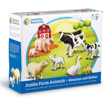 Load image into Gallery viewer, Jumbo Farm Animals Mommas and Babies