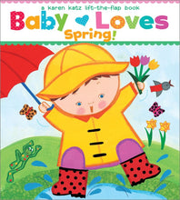 Load image into Gallery viewer, Baby Loves Spring Board Book