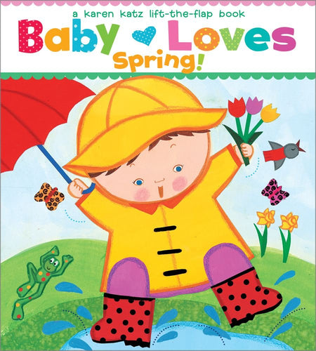 Baby Loves Spring Board Book