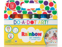 Load image into Gallery viewer, Do A Dot Art 6 Pack Rainbow Markers