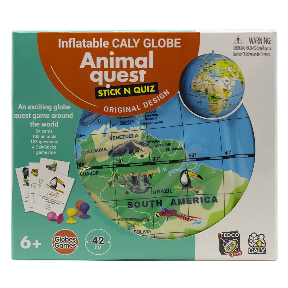Animal Quest Globe Game