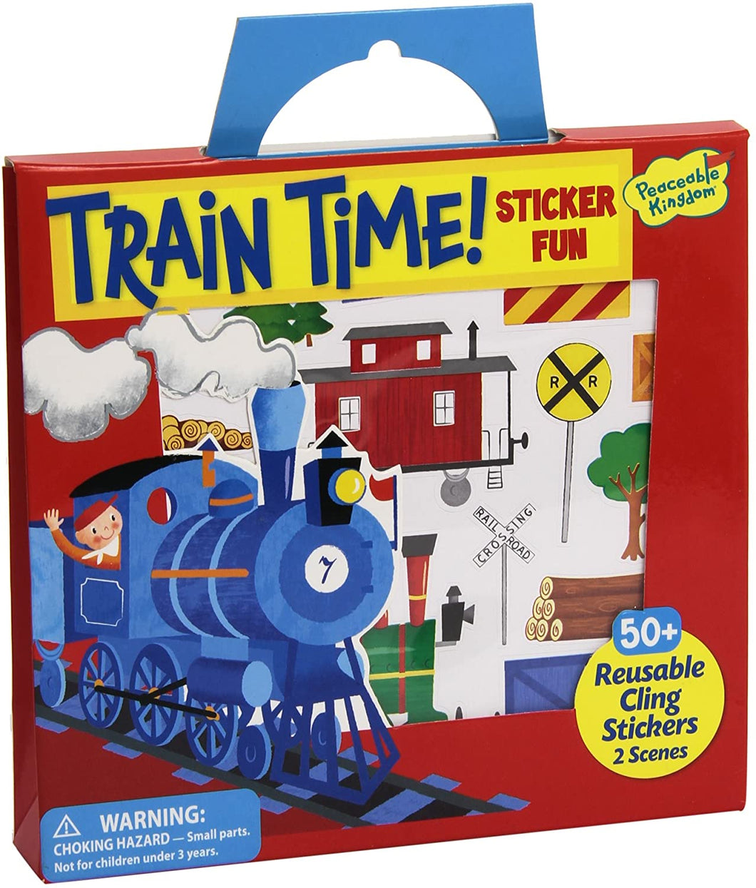 Train Time Sticker Tote