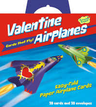 Load image into Gallery viewer, Airplanes Valentines Cards