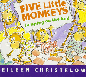Five Little Monkeys Jumping On The Bed Board Book