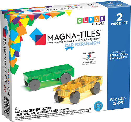 2 PC Car Expansion Magnatiles