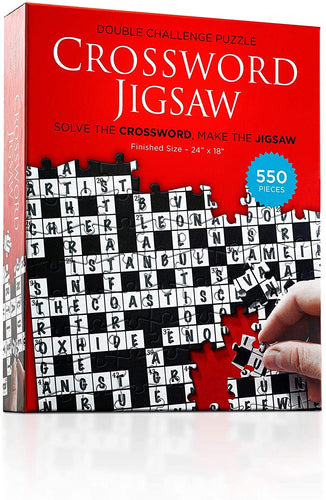 Crossword Jigsaw Puzzle 550 Pieces