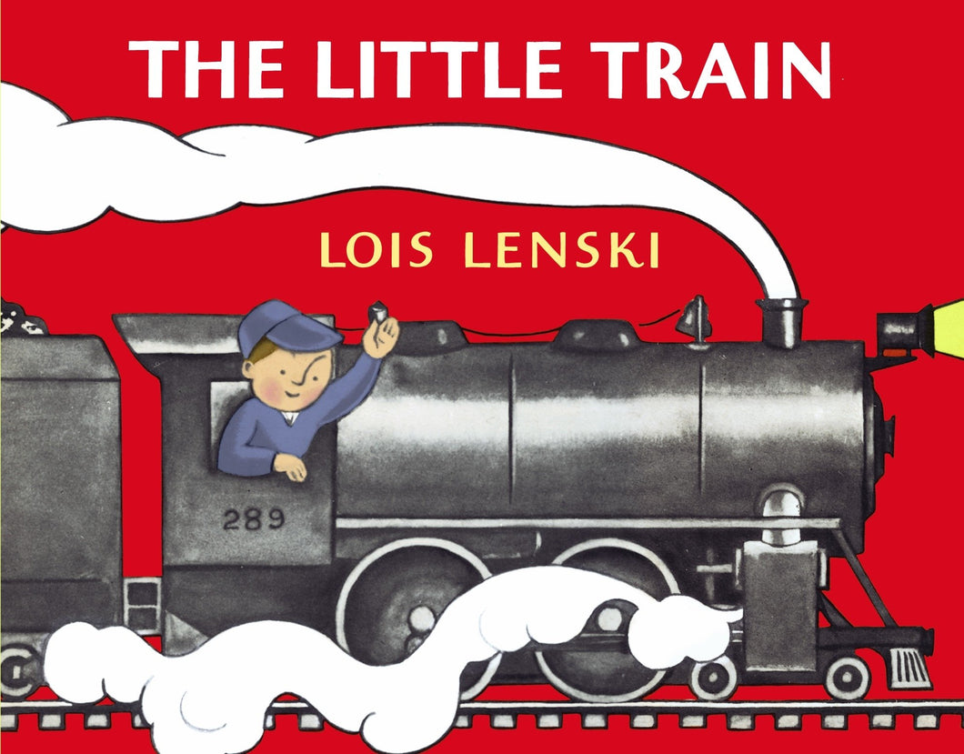 The Little Train Board Book