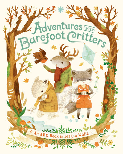 Adventures with Barefoot Critters Board Book