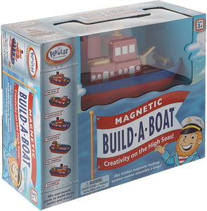 Magnetic Build A Boat