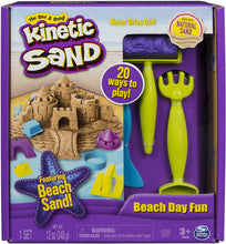 Load image into Gallery viewer, Kinetic Sand Beach Day Fun Playset