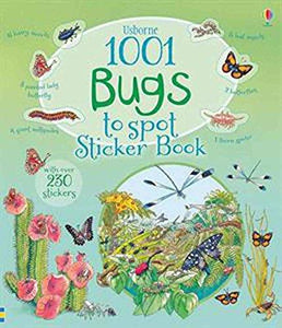 1001 Bugs to Spot Sticker bk