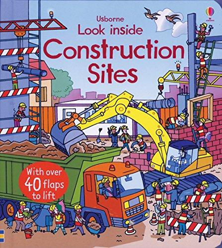 Construction Sites Look Inside Board Book