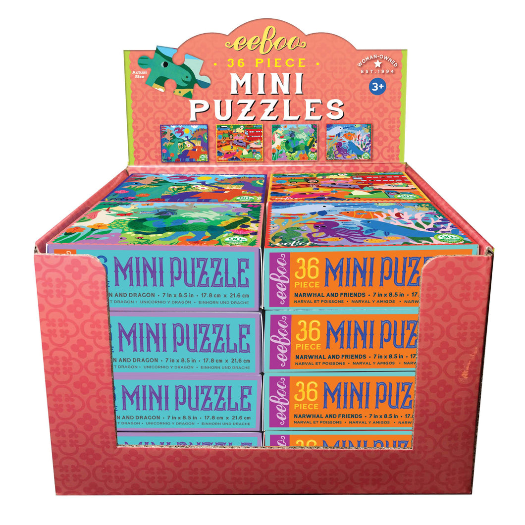 Miniature Monika 36 Piece Puzzle Assortment