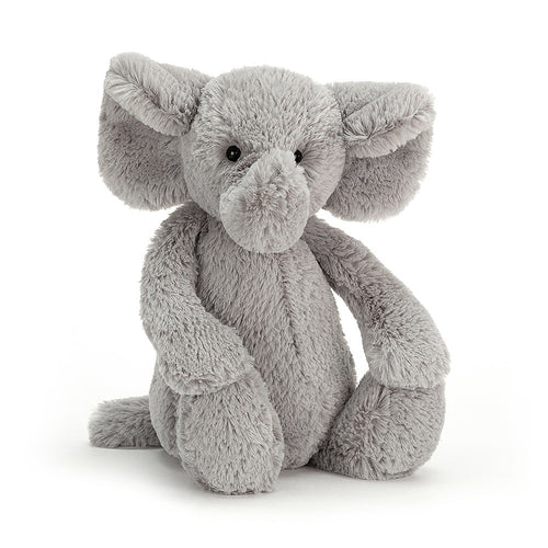 Medium Bashful Grey  Elephant