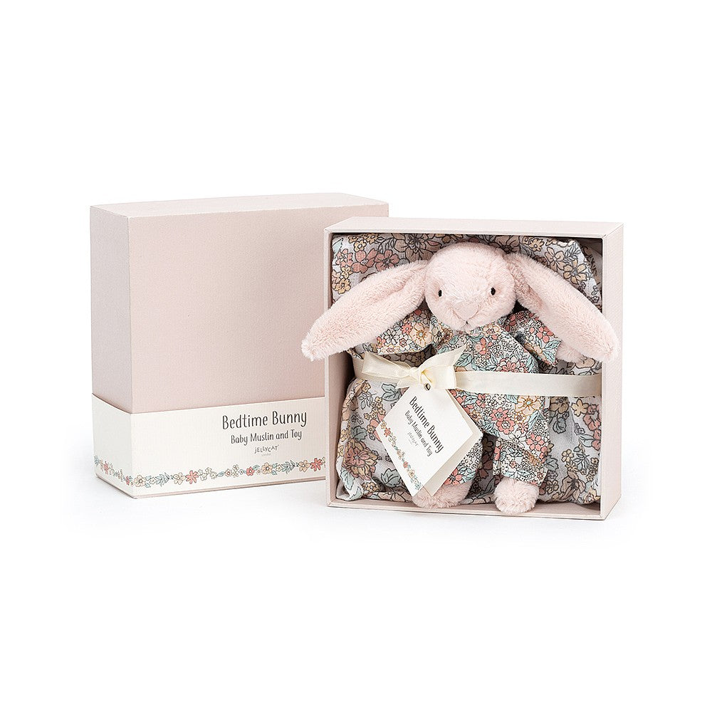 Bedtime Bunny Muslin And Toy Set