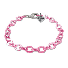 Load image into Gallery viewer, Pink Chain Bracelet