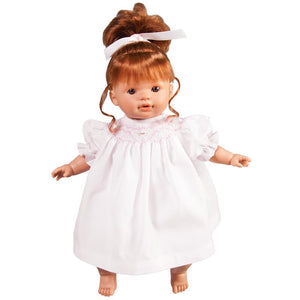 "15"" Charlotte Doll Redhead With Brown Eyes"