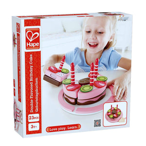 Double Flavored Birthday Cake