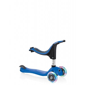 Navy Blue Evo 4in1 Scooter With Lights