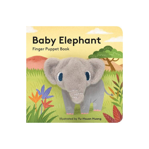 Baby Elephant Finger Puppet Board Book