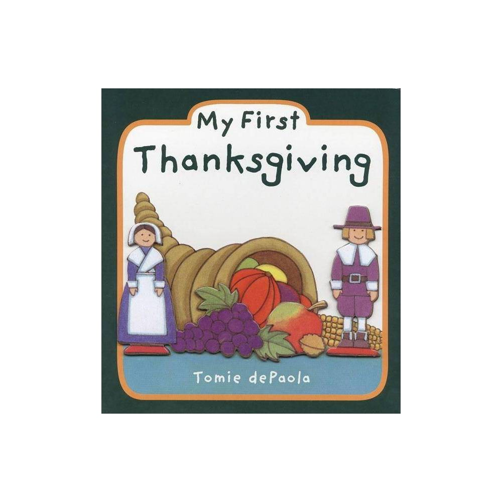 My First Thanksgiving Board Book