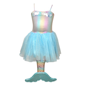Iridescent Sequin Mermaid Dress Size 5/6