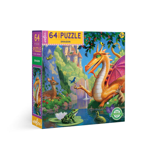 64 Piece Dragon Puzzle