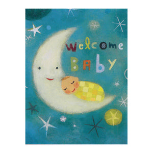 Moon & Baby Enclosure Card