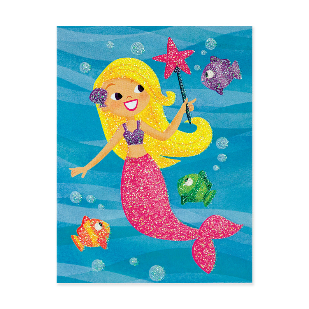 Mermaid With Wand Enclosure Card