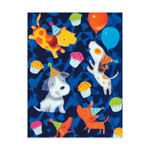 Party Dogs Enclosure Card
