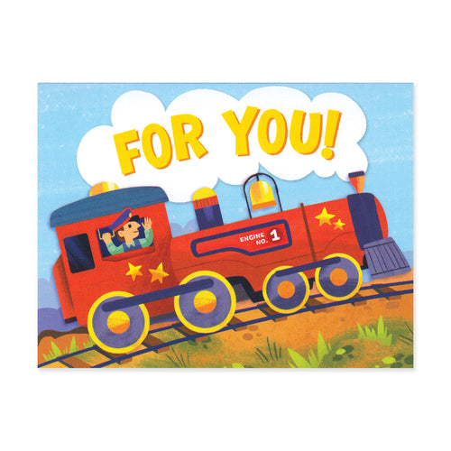 Train For You Enclosure Card