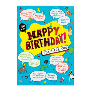 Jokes For You Birthday Card
