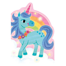 Load image into Gallery viewer, Unicorn With Rainbow Birthday Card