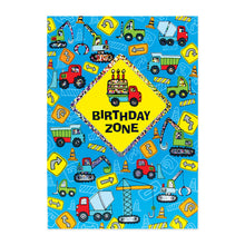 Load image into Gallery viewer, Birthday Zone Sign Birthday Card