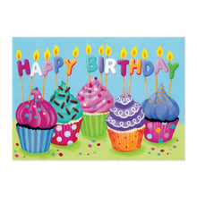Load image into Gallery viewer, Cupcakes Birthday Card