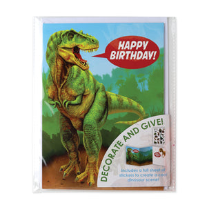 Have A Dinomite Day Sticker Card