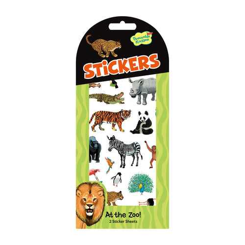 At The Zoo Animal Sticker Pack