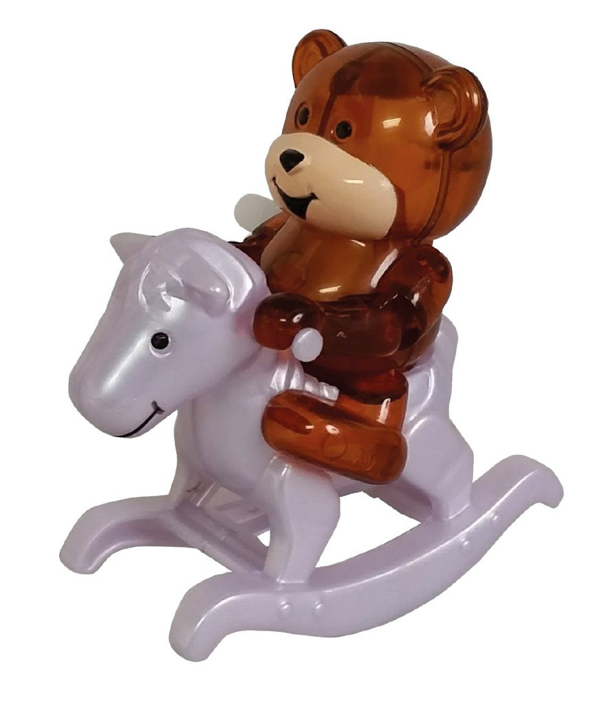 Ricky Bear Rocking Horse Wind Up