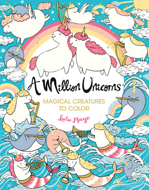 Million Unicorns To Color