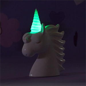 Unicorn Color Changing Bank